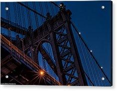 Acrylic Print featuring the photograph Manhattan Light by Linda Karlin