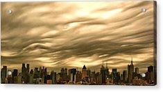 Manhattan Sky Acrylic Print