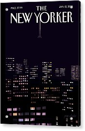 Limited Visibility Acrylic Print