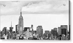 Manhattan Skyline Acrylic Print by Takeshi Okada