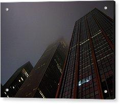 Manhattan Skyscrapers Acrylic Print