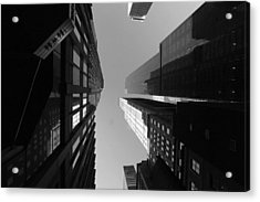 Manhattan Skyscrapers Acrylic Print