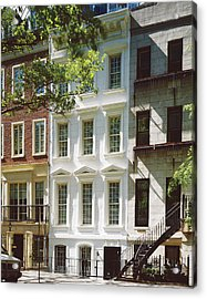 Manhattan Street View Acrylic Print