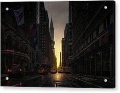 Manhattanhenge Acrylic Print