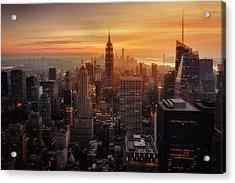 Manhattan's Light Acrylic Print