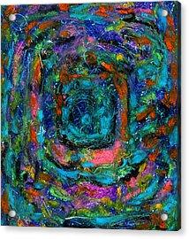 Manific Acrylic Print by Yuri Lushnichenko
