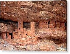 Manitou Cliff Dwellings Acrylic Print