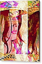 Mannequin 8 Acrylic Print by Maria Huntley