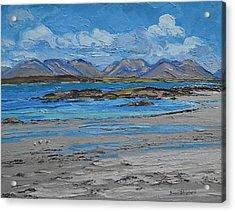 Mannin Bay Beach Ballyconneelly Connemara Acrylic Print