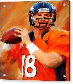 Manning Acrylic Print by Lourry Legarde