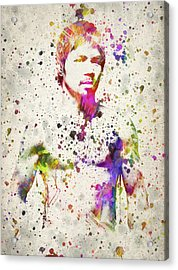 Manny Pacquiao Acrylic Print by Aged Pixel