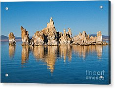 Acrylic Print featuring the photograph Mono Lake Tufa by Mae Wertz