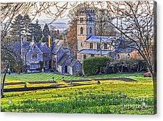 Manor House Acrylic Print