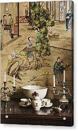 Manor Interior Acrylic Print by Svetlana Sewell