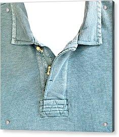 Man's Jersey Acrylic Print by Tom Gowanlock