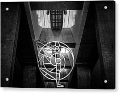 Man's Sphere Of Life Acrylic Print