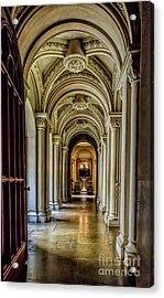 Mansion Hallway Acrylic Print