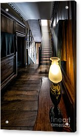 Mansion Lamp Acrylic Print by Adrian Evans