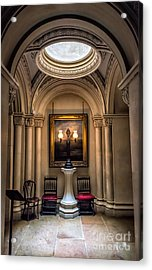 Mansion Lamps Acrylic Print by Adrian Evans