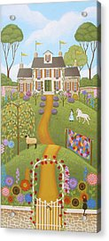 Mansion Over The Hilltop Acrylic Print