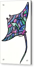 Manta Ray 2009 Acrylic Print by Marconi Calindas