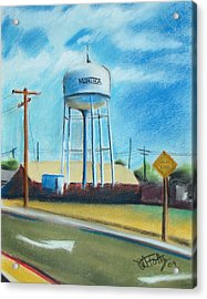 Manteca Tower Acrylic Print