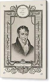 Manuel Belgrano Acrylic Print by British Library