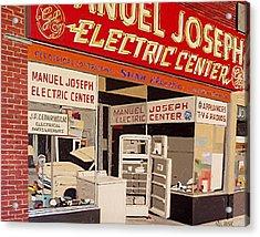 Manuel Joseph Acrylic Print by Paul Guyer