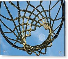 Many Baskets Made Many Moons Ago Acrylic Print by Lena Wilhite