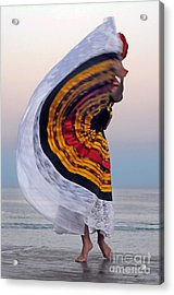 Many Colors Acrylic Print by Dan Holm
