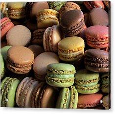 Many Mini Macarons Acrylic Print