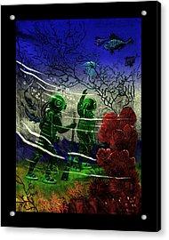 Many Wonders Acrylic Print by Jason Edwards
