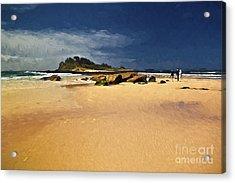 Manyana Beach Acrylic Print