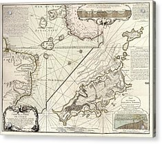 Map Of Fernando De Noronha Acrylic Print by Library Of Congress, Geography And Map Division
