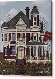 Maple Place Acrylic Print by Catherine Holman