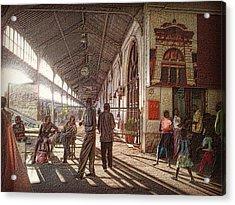 Maputo Railway Station Acrylic Print