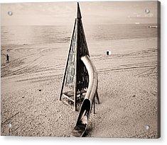 Mar Bella, Barcelona Acrylic Print