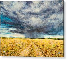 Mara Storm Acrylic Print by Tilly Willis