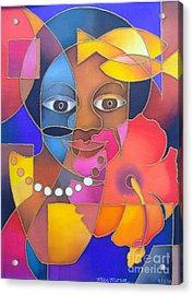Marama Ni Viti - Fijian Woman Acrylic Print
