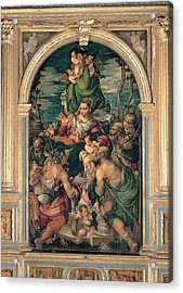 Marascalchi Pietro, Our Lady Of Mercy Acrylic Print by Everett