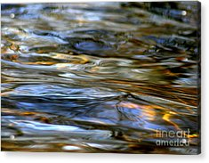 Marbeled Movement Acrylic Print by Neal Eslinger