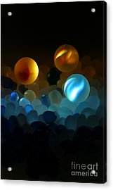 Marble-2 Acrylic Print by Tad Kanazaki