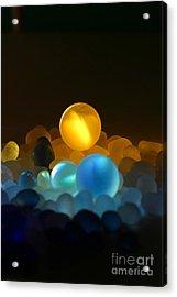 Marble-3 Acrylic Print by Tad Kanazaki