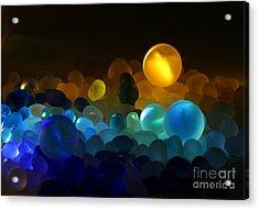 Marble-4 Acrylic Print by Tad Kanazaki