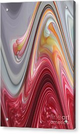 Marble Acrylic Print by The Art of Alice Terrill