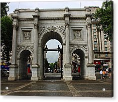 Marble Arch Acrylic Print by Nicky Jameson