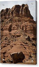 Marble Canyon Vi Acrylic Print by Dave Gordon