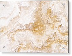 Marble Acrylic Print by Elena Elisseeva