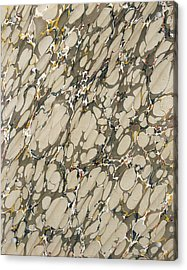 Marble Endpaper Acrylic Print