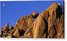 Marble Rock Formation Pano Acrylic Print